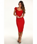 Jess's red dress at Zappos at Zappos