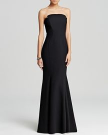 Jill Jill Stuart Deco Neckline Strapless Gown at Bloomingdales