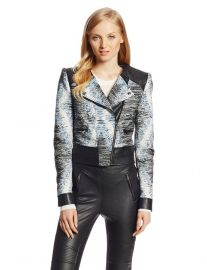 Jimmy Moto Jacket by Bcbgmaxazria at Amazon
