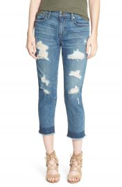 Joe s  Collector s - Sawyer  Destroyed Crop Slim Boyfriend Jeans  Antonia at Nordstrom