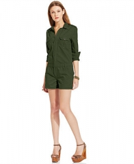 Joes Jeans Cargo Romper - Shorts - Women - Macys at Macys