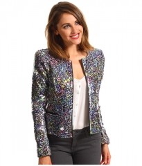 Joes Jeans Opale Sequin Jacket Multi Color at 6pm