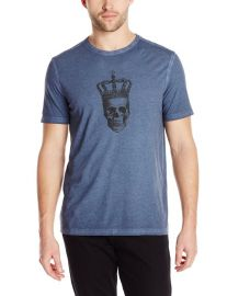 John Varvatos Menand39s Skull with Crown Graphic T-Shirt at Amazon