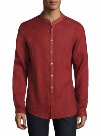John Varvatos Solid Slim-Fit Shirt at Saks Fifth Avenue