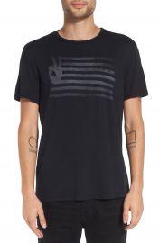 John Varvatos Star USA  Peace Flag  Graphic T-Shirt at Nordstrom