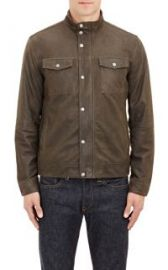 John Varvatos Star USA Leather Jacket at Barneys