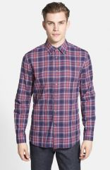 John Varvatos Star USA Slim Fit Sport Shirt at Nordstrom