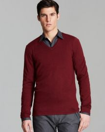 John Varvatos USA V-Neck Sweater at Bloomingdales