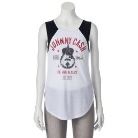 Johnny Cash Raglan Muscle Tee at Kohls
