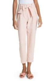 Joie Jun Cotton   Linen Ankle Pants at Nordstrom