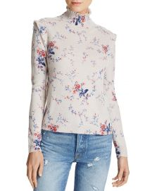 Joie Robbia Floral-Pattern Wool  amp  Cashmere Sweater at Bloomingdales