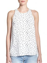 Joie - Brighton Printed Silk Tank at Saks Fifth Avenue