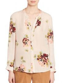 Joie - Devitri Silk Floral-Print Blouse at Saks Fifth Avenue