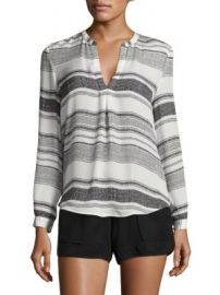 Joie - Obeline B Striped Silk Blouse at Saks Fifth Avenue