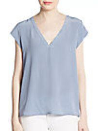 Joie - Rubina Silk Top at Saks Off 5th
