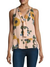 Joie - Silk Estero Floral-Print Blouse at Saks Fifth Avenue
