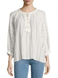 Joie - Toluca Cotton Blouse at Saks Off 5th