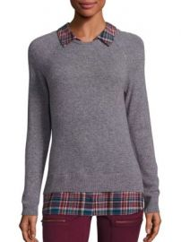 Joie - Zaan F Cashmere Layered Sweater at Saks Off 5th