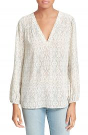 Joie  Avonmora  Print Silk Top at Nordstrom