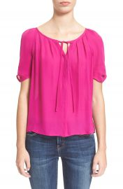 Joie  Berkeley  Silk Top in Freesia at Nordstrom