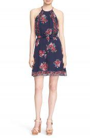 Joie  Valletta  Floral Print Silk Dress at Nordstrom