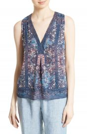 Joie Adelcie Silk Top at Nordstrom