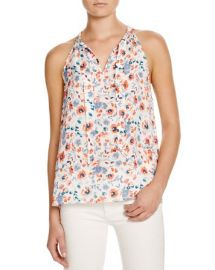 Joie Alcalla Watercolor Print Top at Bloomingdales