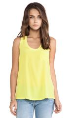 Joie Alicia Tank in Citrine  REVOLVE at Revolve