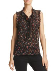 Joie Anathalia Floral Print Silk Top - 100  Exclusive at Bloomingdales