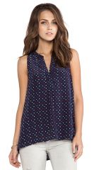 Joie Aruna Tank in Dark Navy  REVOLVE at Revolve