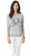Joie Bicycle Intarsia Sweater at Shopbop