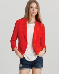 Joie Blazer - Barberry Silk at Bloomingdales