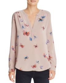 Joie Carita Printed Silk Top at Bloomingdales