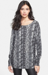 Joie Cienna Print Sweater at Nordstrom
