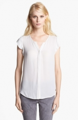 Joie Dimante Silk Top at Nordstrom
