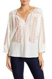 Joie Embroidered Blouse at Nordstrom Rack