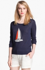 Joie Evaline Intarsia Sweater at Nordstrom