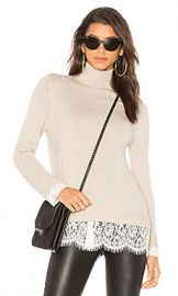 Joie Fredrika Sweater in Oatmeal  amp  Porcelain from Revolve com at Revolve