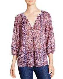 Joie Gloria B Paisley Print Silk Blouse - 100 Bloomingdaleand039s Exclusive at Bloomingdales