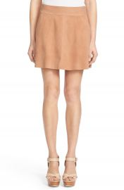 Joie Graton Suede Miniskirt at Nordstrom