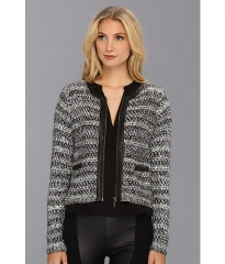 Joie Jacolyn Jacket Caviar at Zappos