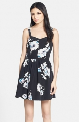 Joie Latelle Silk Fit andamp Flare Dress at Nordstrom