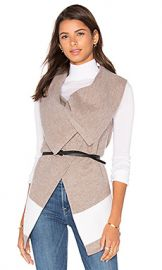 Joie Ligere Wool Vest in Heather Mushroom  amp  Porcelain from Revolve com at Revolve