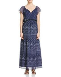 Joie Manalia Printed Silk Maxi Dress at Bloomingdales