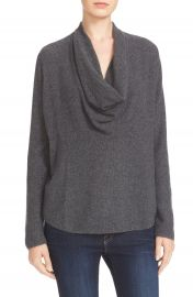 Joie Mikkelin Wool   Cashmere Drape Neck Sweater at Nordstrom
