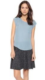 Joie Rancher Silk Top at Shopbop