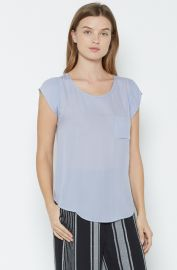 Joie Rancher Silk Top in Lilac at Joie