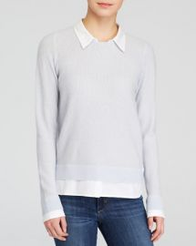 Joie Sweater - Rika Two-fer at Bloomingdales