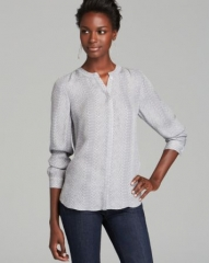 Joie Top - Hanelle Reptile Silk at Bloomingdales