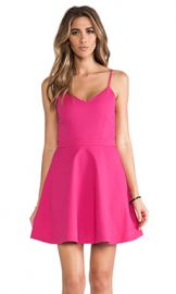 Joie Viernan Cotton Pique Dress in Bougainvillea from Revolve com at Revolve
